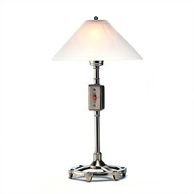 Ecco Leviton Dimmer 24'' Buffet Lamp; Pewter