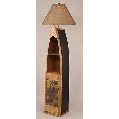Coast Lamp Mfg. Rustic Living Boat 65.5'' Floor Lamp