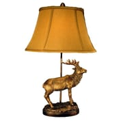Judith Edwards Designs Bronze Elk 26'' Table Lamp