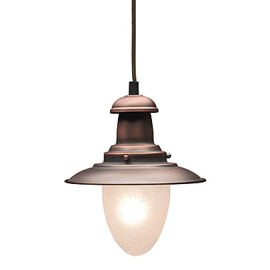 Landmark Lighting Railroad 1-Light Mini Pendant