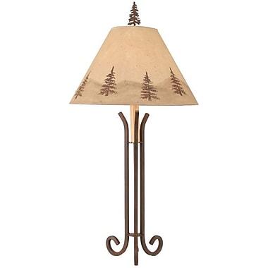 Coast Lamp Mfg. Rustic Living 33'' Table Lamp