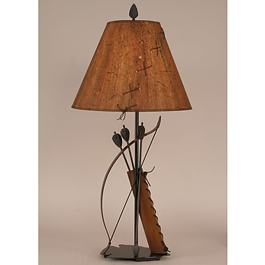 Coast Lamp Mfg. Rustic Living 31.5'' Table Lamp