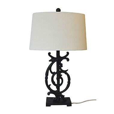 White x White Campania 26.5'' Table Lamp