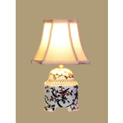Oriental Furniture Bird Jar 21'' Table Lamp