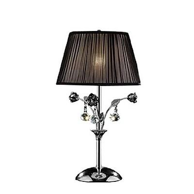 Sintechno Inc Crystal Rose 28'' Table Lamp