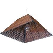 Oriental Furniture Yamanote Japanese 1-Light Hanging Lantern