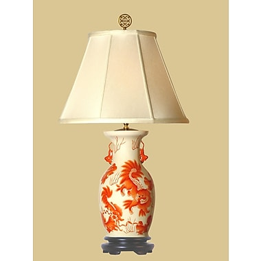 Oriental Furniture Foo Dog 21'' Table Lamp