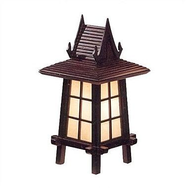 Oriental Furniture Thai Puggi Oriental 18'' Table Lamp