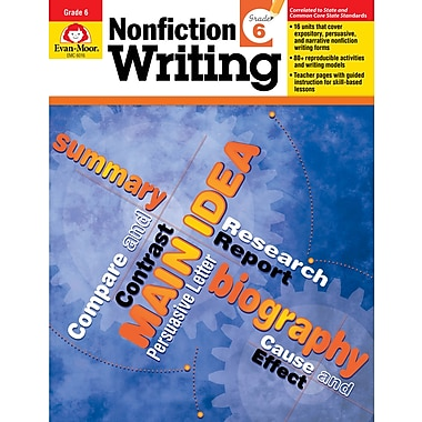 Evan-Moor Educational Publishers Nonfiction Writing for Grade 6 (6016)