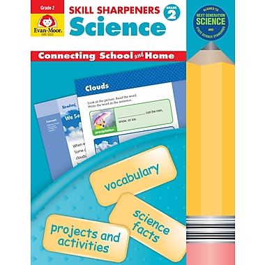 Evan-Moor Educational Publishers Skill Sharpeners: Science Grade 2 (5322)