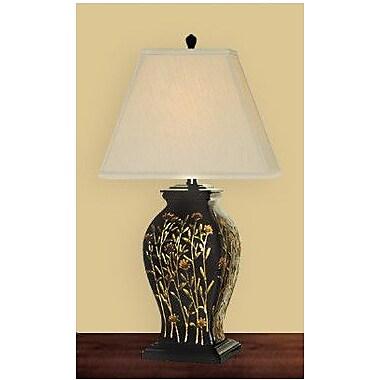 JB Hirsch Long Stem Flowers 29'' Table Lamp