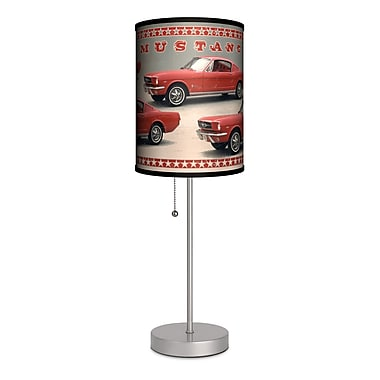 Lamp-In-A-Box Ford Mustang Fastback 20'' Table Lamp