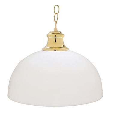 Sunset Lighting 1-Light Bowl Pendant