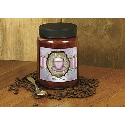 LANG Coffee Time 26 oz Jar Candle (3100010)