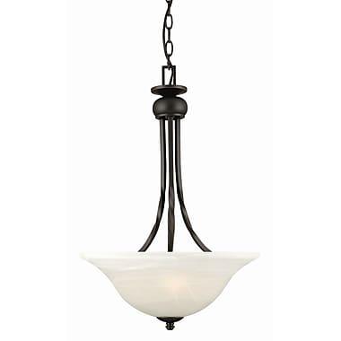 Design House Drake 2-Light Inverted Pendant