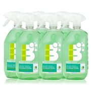 Boulder Clean Natural Foaming Bathroom Cleaner, Lemon Lime Zest, 28 oz - 6/Pack