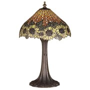 Meyda Tiffany Wicker 18.5'' Table Lamp