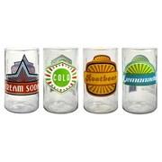 Artland Upcycle Fun in the Sun Juice Glass (Set of 4)