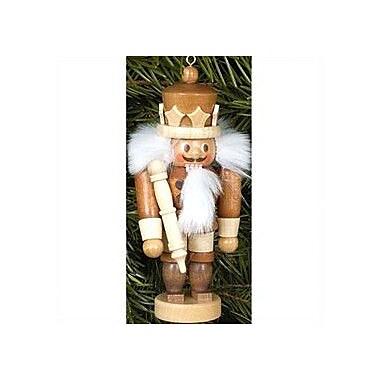 Christian Ulbricht Natural Wood Mini King Nutcracker