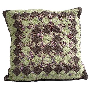 Nostalgia Home Kent Cotton Throw Pillow