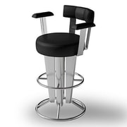Createch Saturne 37'' Swivel Bar Stool