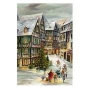 Alexander Taron Village Christmas Advent Calendar
