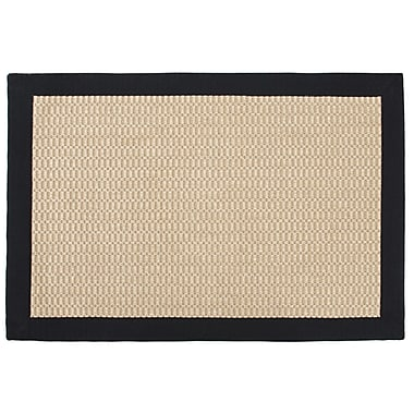 Leaf & Fiber Sisal Jacquard Chevron Blended Toupe Indoor/Outdoor Area Rug