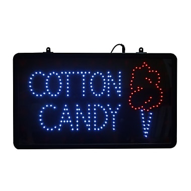 Paragon International LED Cotton Candy Sign