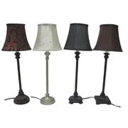 Santa's Workshop Assorted 23'' Table Lamp Set