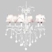 Jubilee Collection Glitz 6-Light Crystal Chandelier