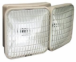 Morris Products Dual Square Head Remote Emergency Light