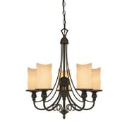 Westinghouse Lighting Hearthstone 5-Light Shaded Chandelier