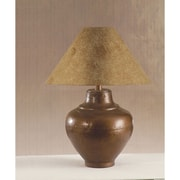 Anthony California 24'' H Table Lamp with Empire Shade