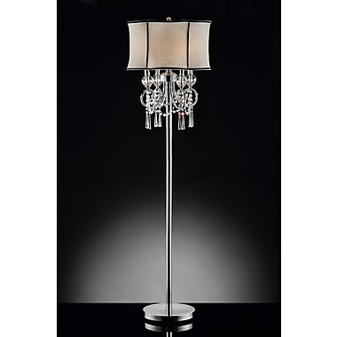 OK Lighting 63.5'' Candelabra Floor Lamp