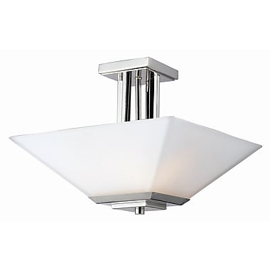 Z-Lite Affinia 3-Light Semi Flush Mount