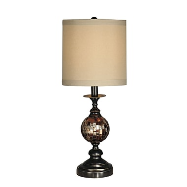 Dale Tiffany Mosaic Ball 22.5'' Table Lamp