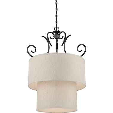Volume Lighting Fairfield 8-Light Drum Chandelier
