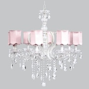 Jubilee Collection Pageant 8-Light Crystal Chandelier