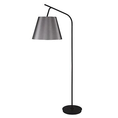 Lights Up! Walker 75'' Task Floor Lamp; Ivory Ipanema