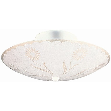 Design House 2-Light Semi Flush Mount