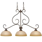 Wildon Home   Lenora 3-Light Kitchen Island Pendant