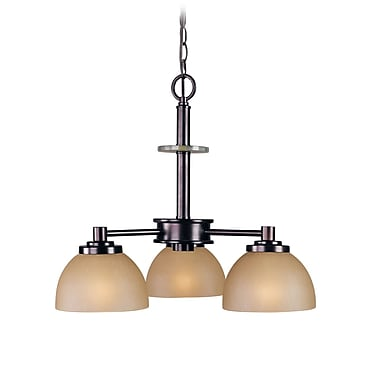 Woodbridge Ajo 3-Light Shaded Chandelier