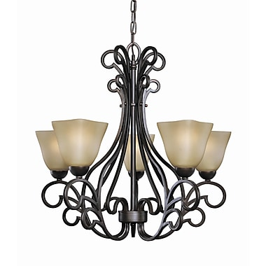 Woodbridge Palermo 5-Light Shaded Chandelier