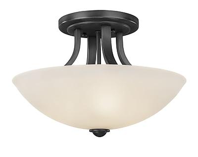 Dolan Designs Fireside 3-Light Semi Flushmount