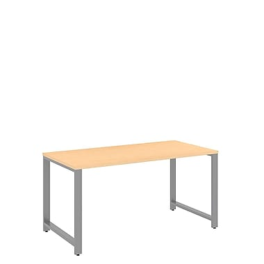Bush Business Furniture Momentum 60W x 30D Desk, Natural Maple (34DKSD6030ACFA)