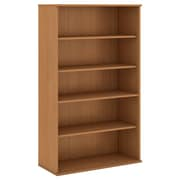 "Bush 66""H 5 Shelf Bookcase, Modern Cherry (BK6636MC)"