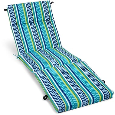 Blazing Needles Pike Outdoor Chaise Lounge Cushion