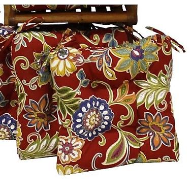 Blazing Needles Alenia Outdoor Lounge Chair Cushion (Set of 2)