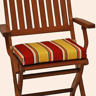 Blazing Needles Haliwell Outdoor Adirondack Chair Cushion (Set of 4); Haliwell Caribbean