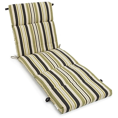 Blazing Needles Eastbay Outdoor Chaise Lounge Cushion